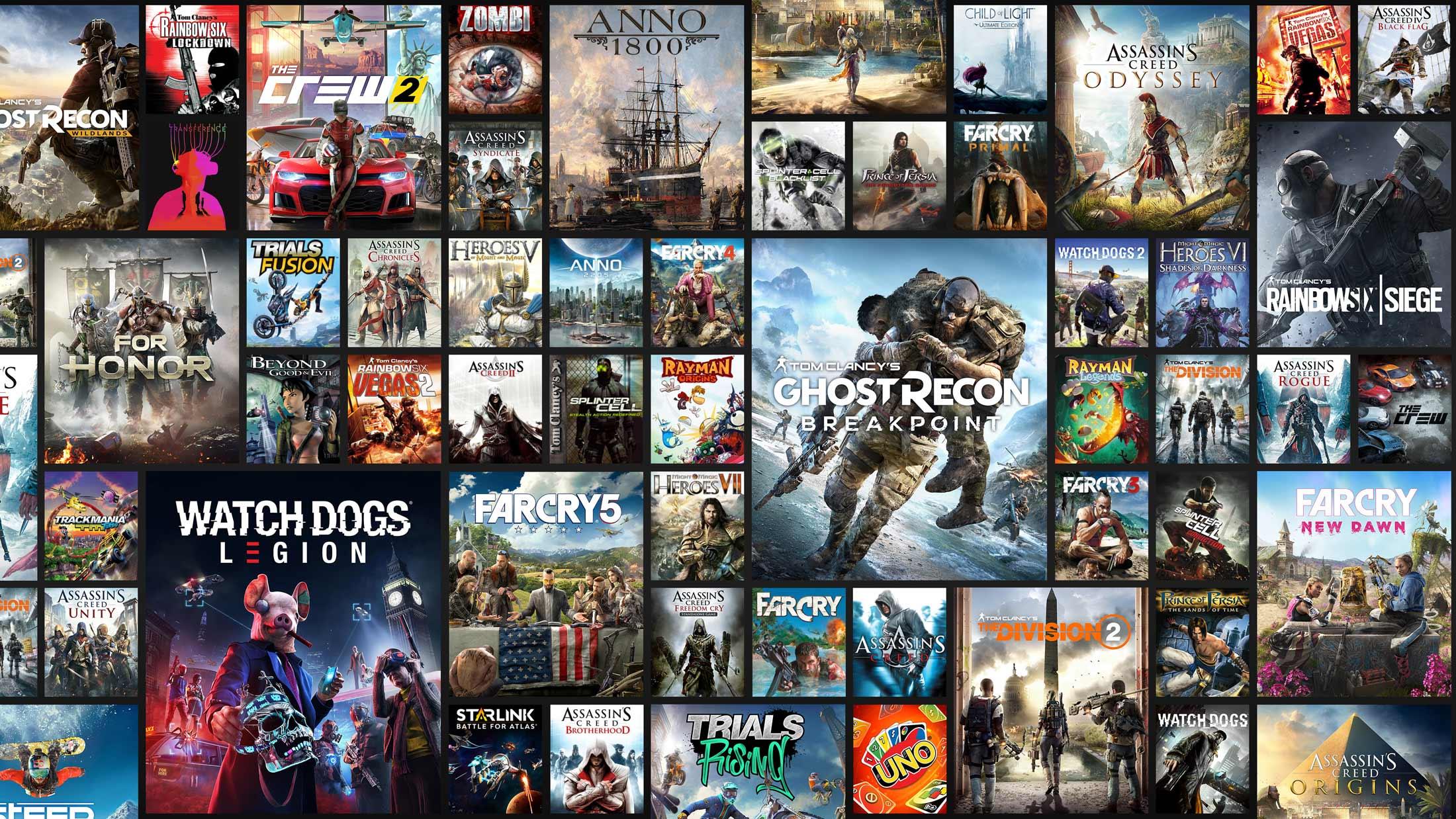 Echa un vistazo a la lista completa de juegos de Ubisoft+