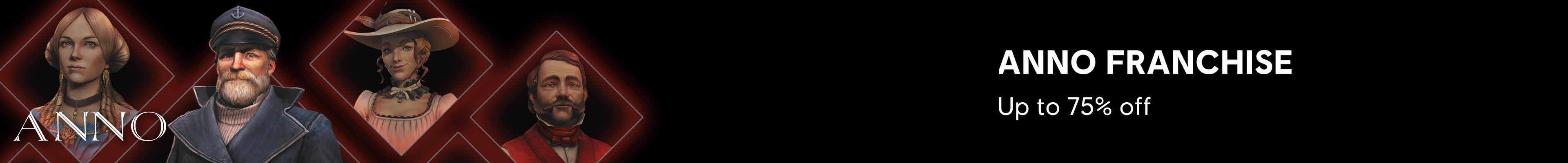 Anno Franchise - Black Friday Category banner