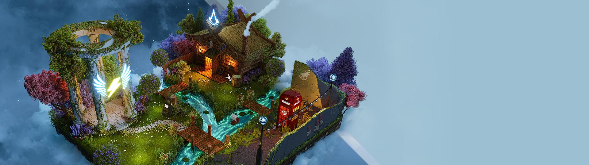 Visitez les mondes d'Ubisoft