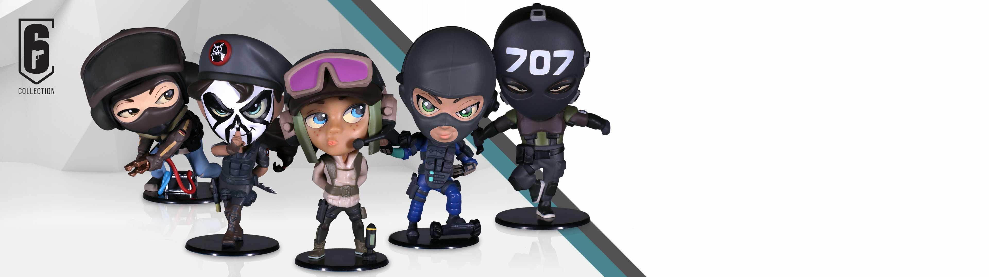 Les figurines Chibi sont de retour avec 5 nouveaux agents!