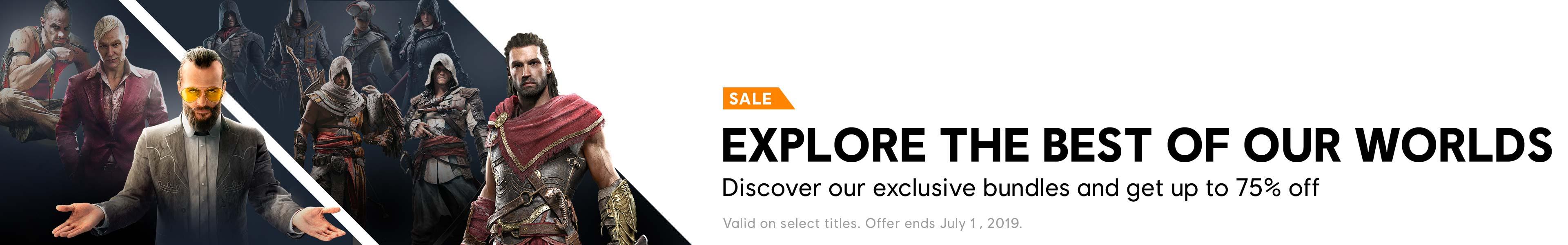 Bundle Sale Category banner