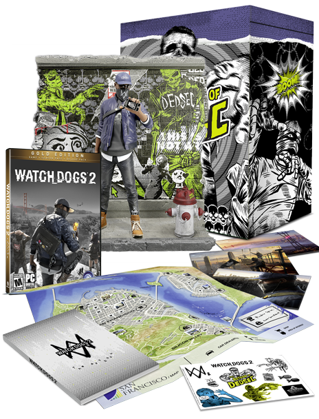 Watch_Dogs® 2 - The Return of Dedsec Collector's Case