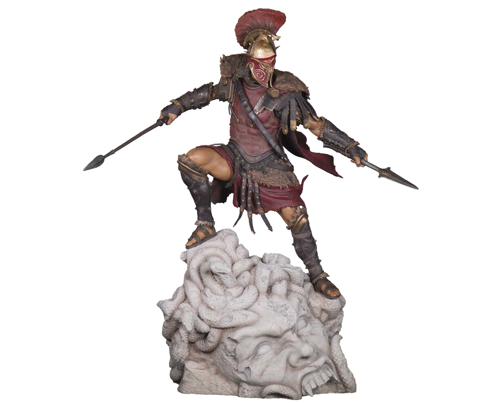ASSASSIN/'S CREED ODYSSEY FIGURE ALEXIOS UBI COLLECTIBLES ACTION FIGURES