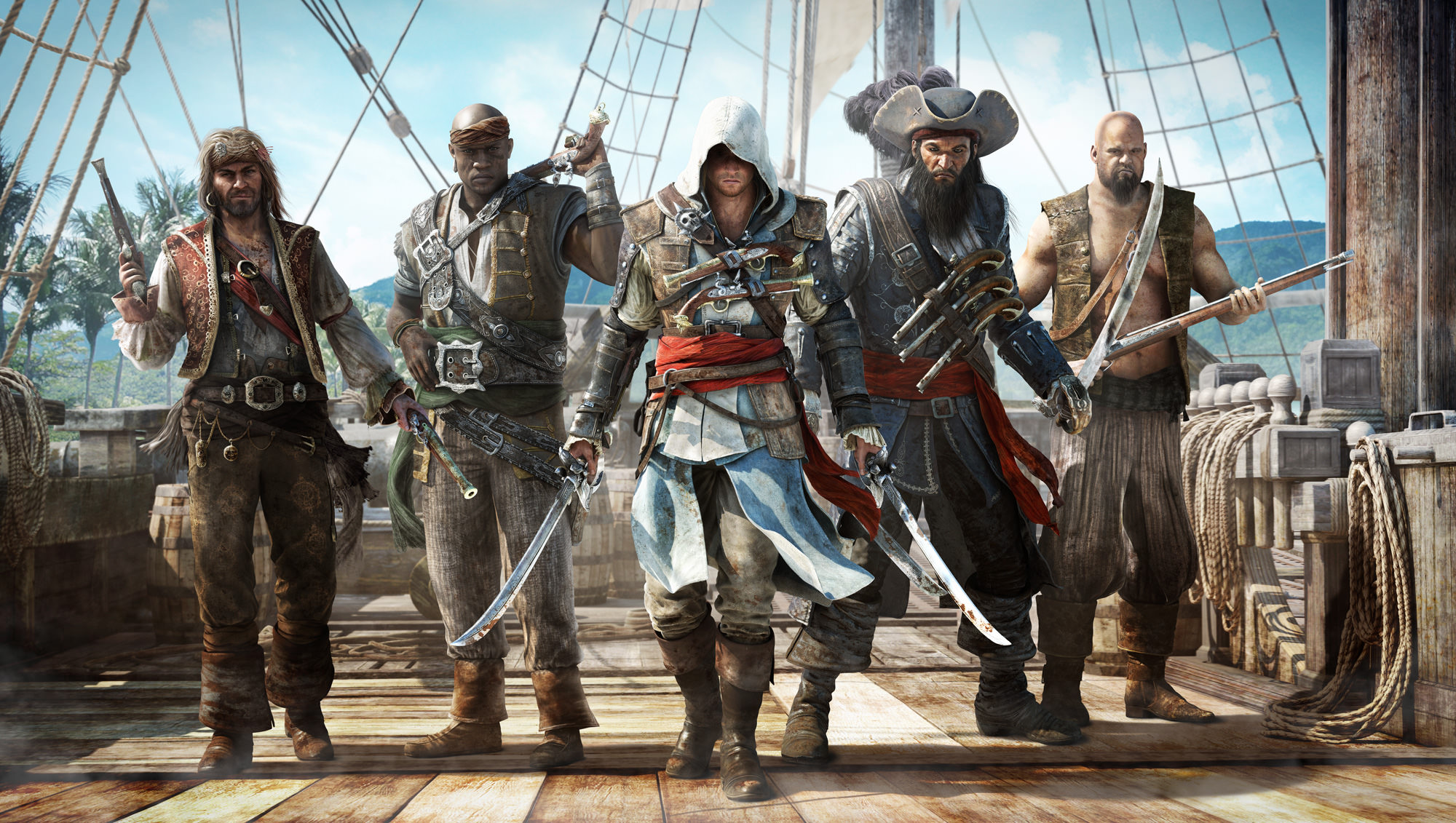 Assassin S Creed Iv Black Flag Edward Kenway Master Of The Seas