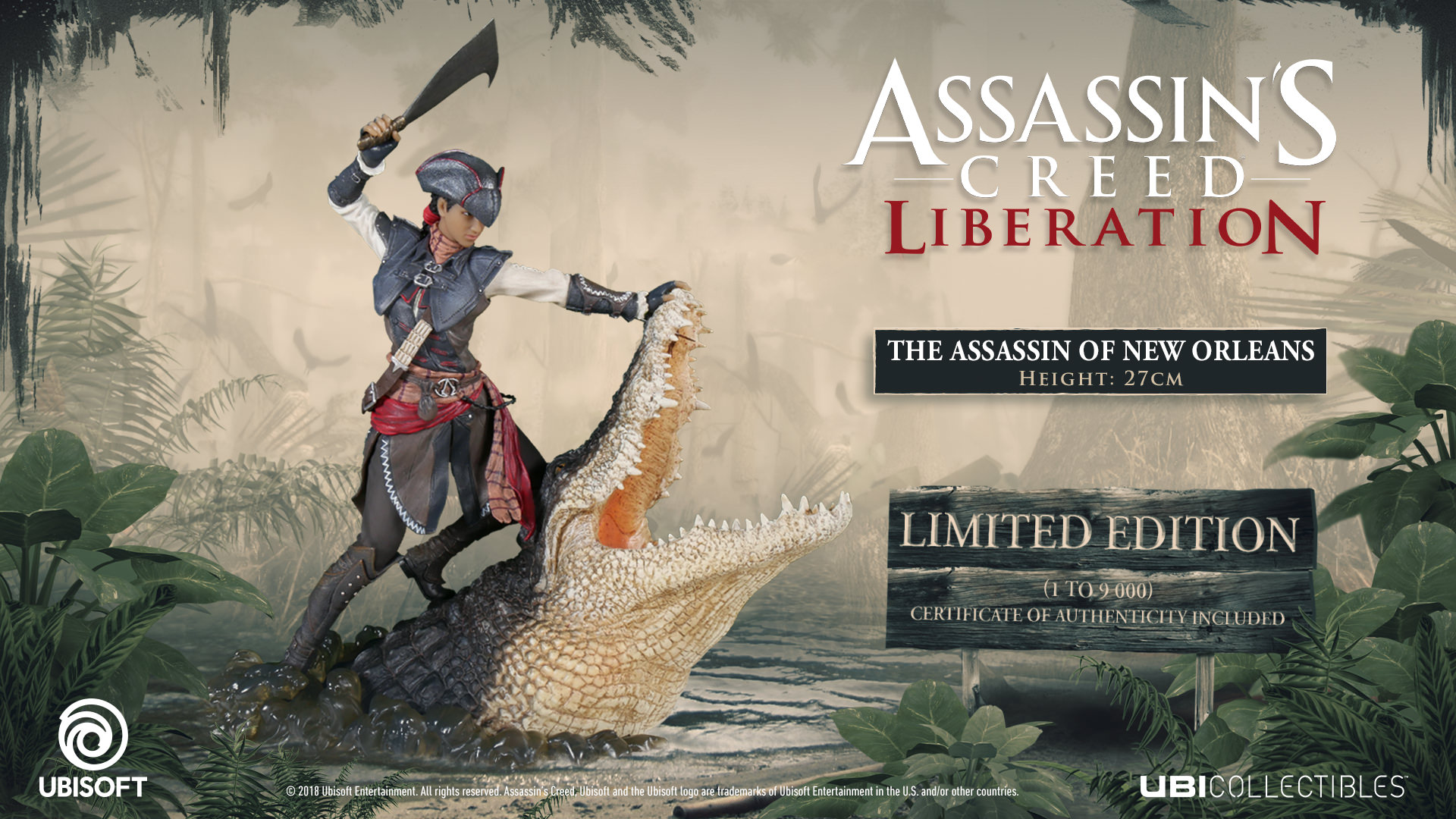 Assassin S Creed Liberation The Assassin Of New Orleans Uk Ubisoft