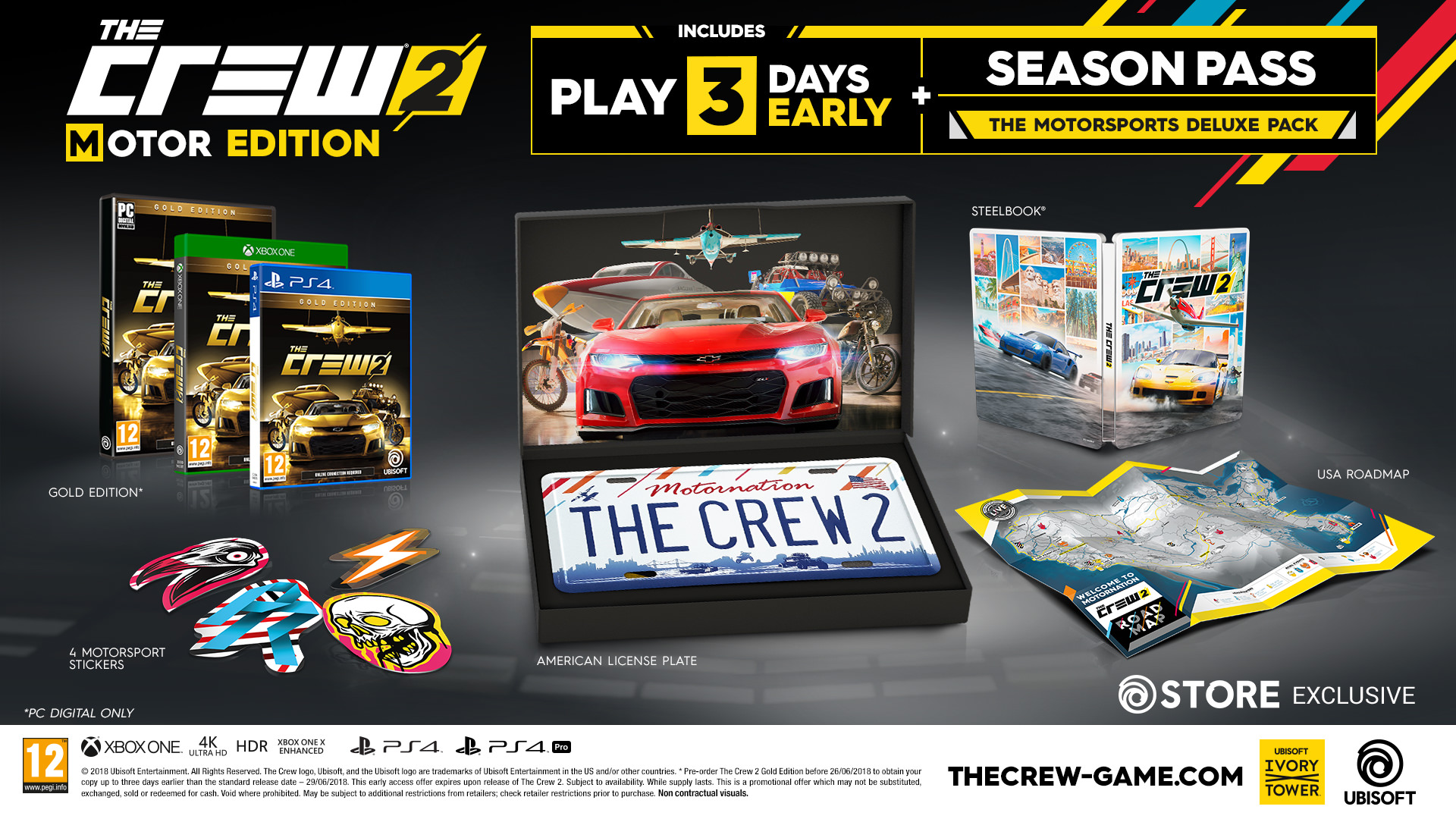 the crew 2 motor edition ubisoft official store. Black Bedroom Furniture Sets. Home Design Ideas