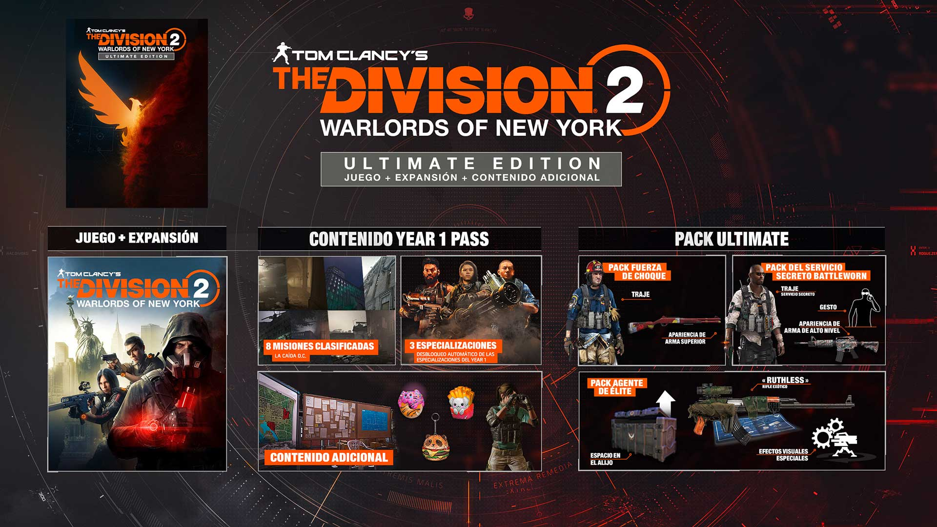 The Division 2 Warlords of New York Ultimate