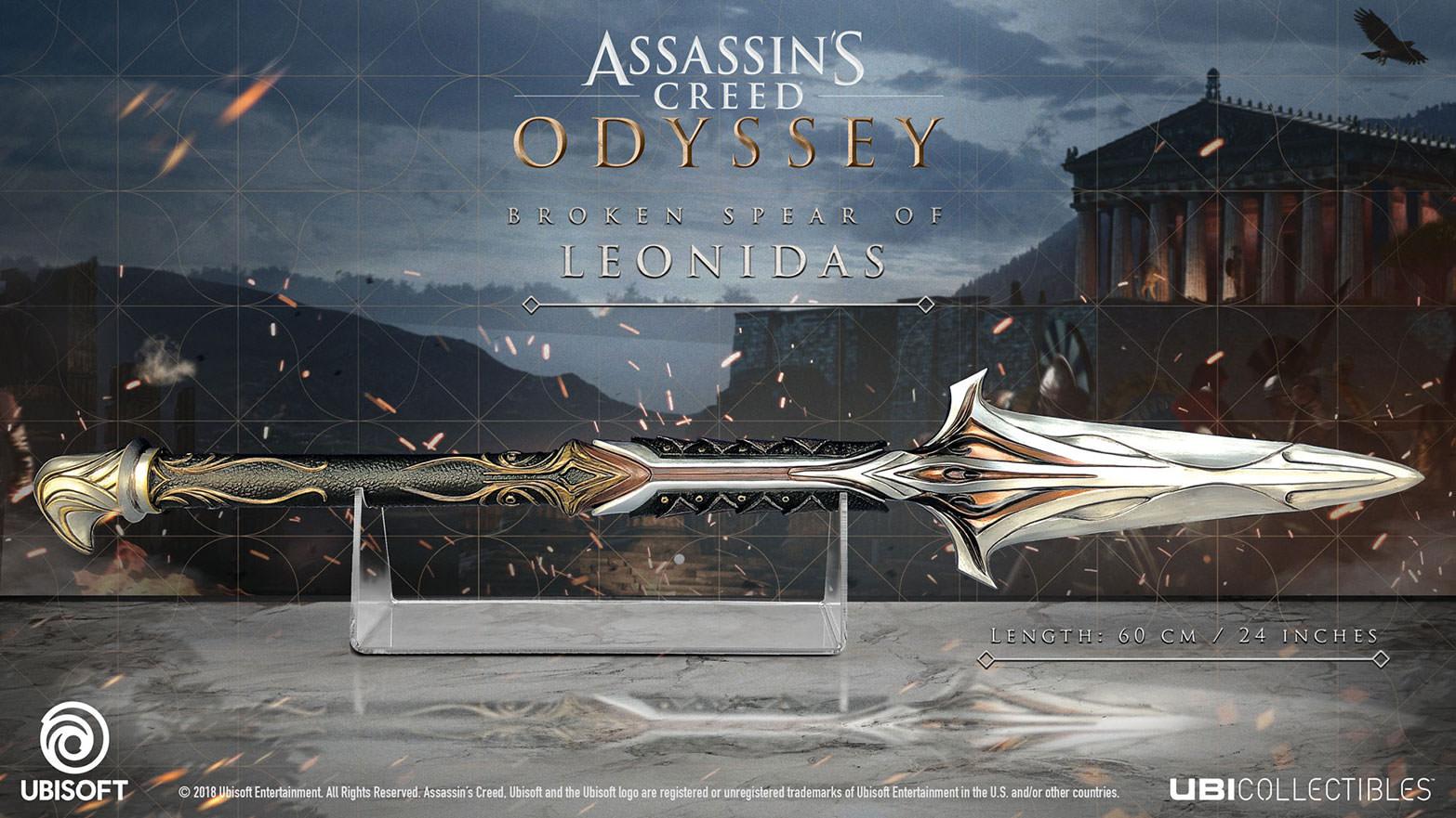 Assassins Creed Odyssey Broken Spear Of Leonidas