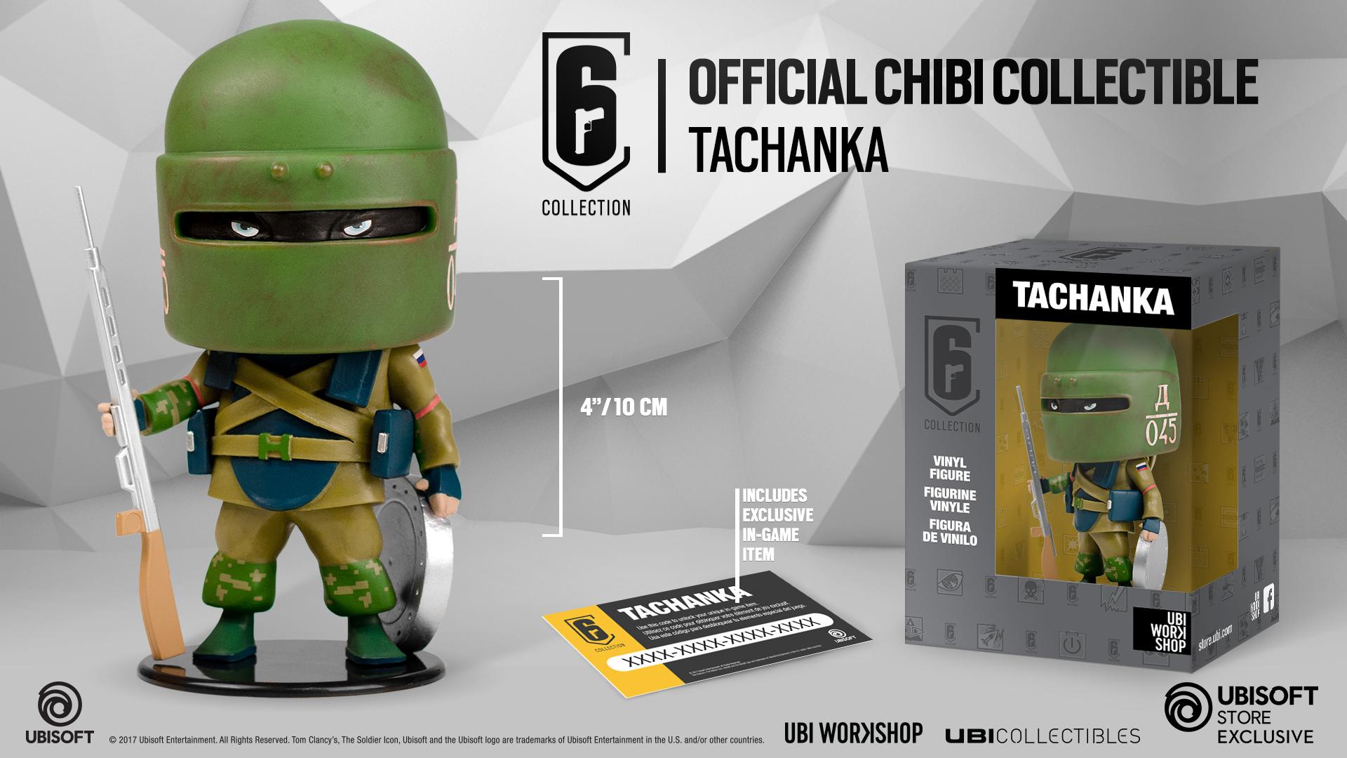ubisoft chibi  Six Collection - Tachanka Chibi Figurine