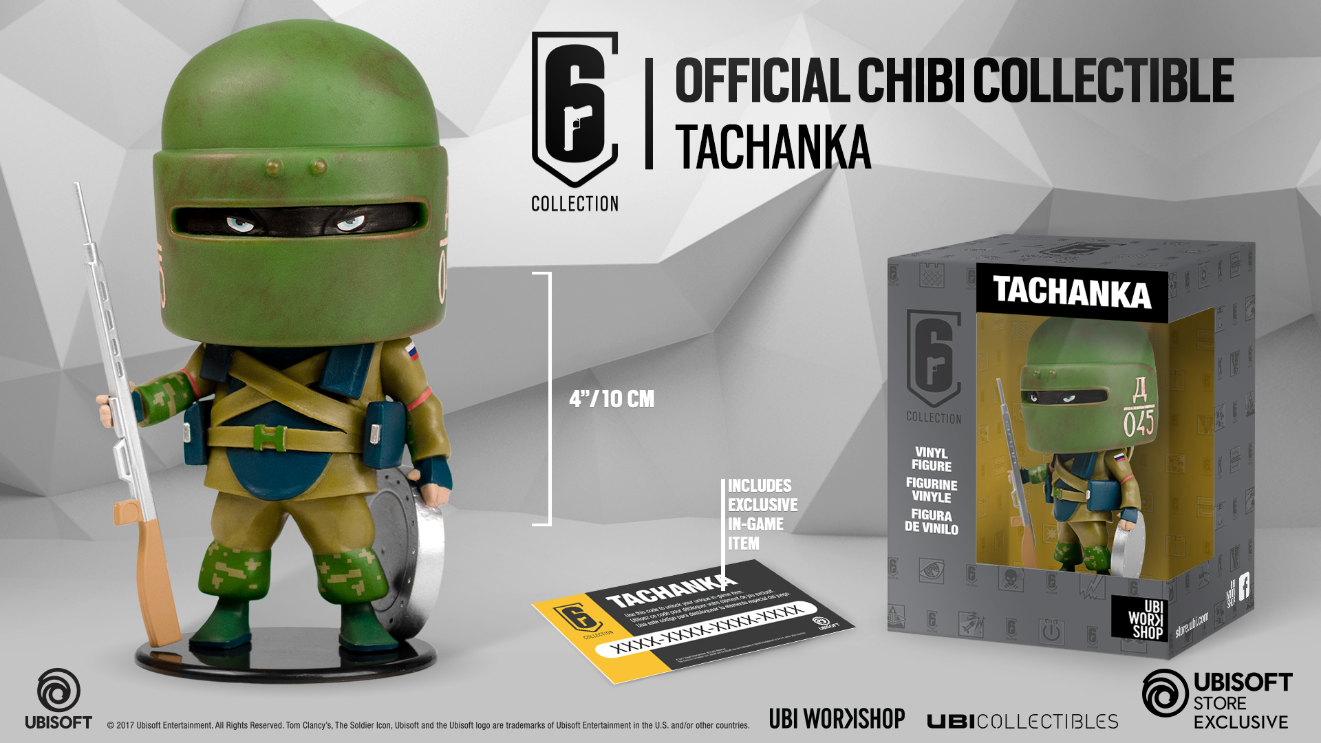 Six Collection - Tachanka Chibi Figurine
