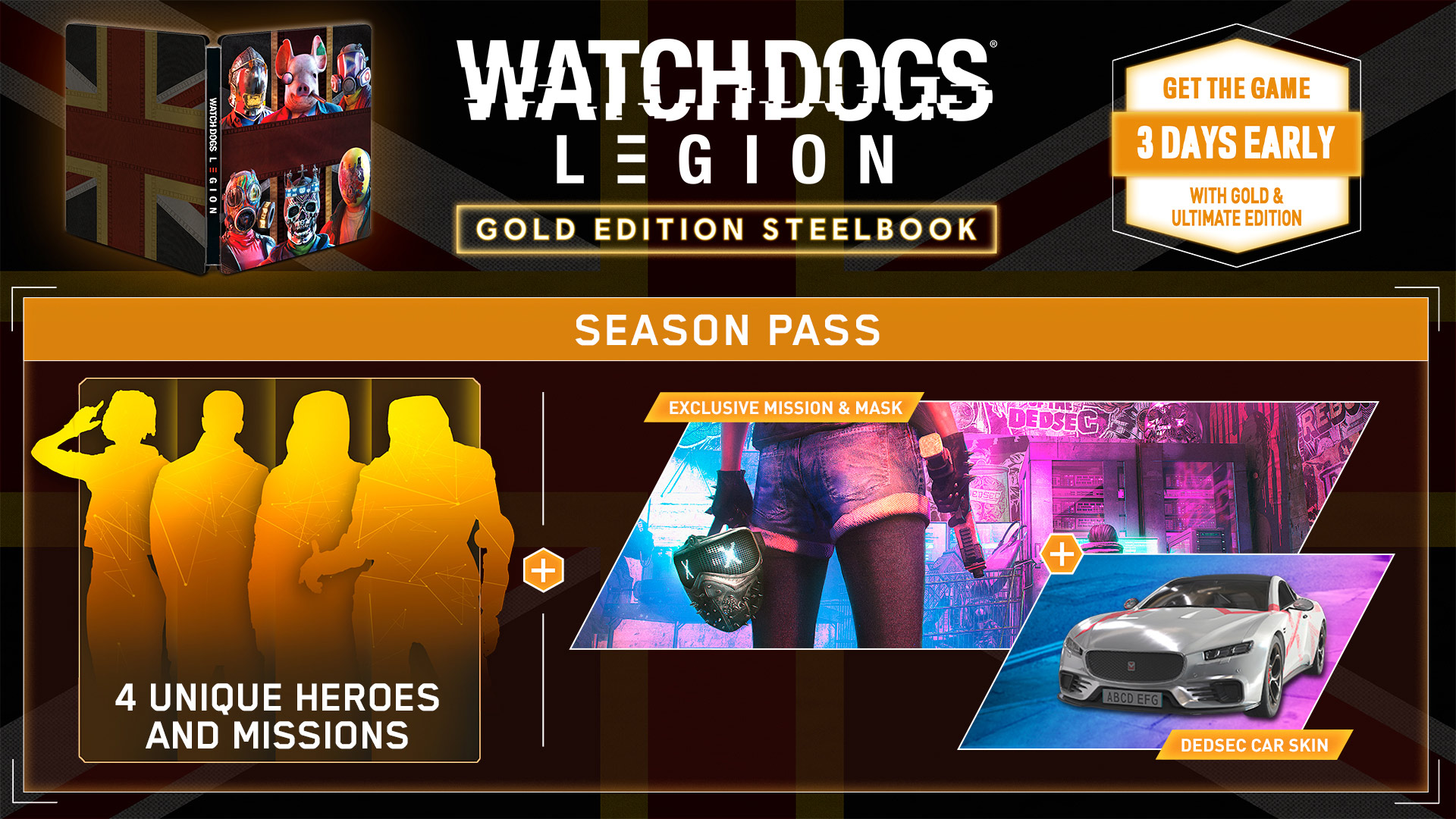Watch Dogs Legion Content