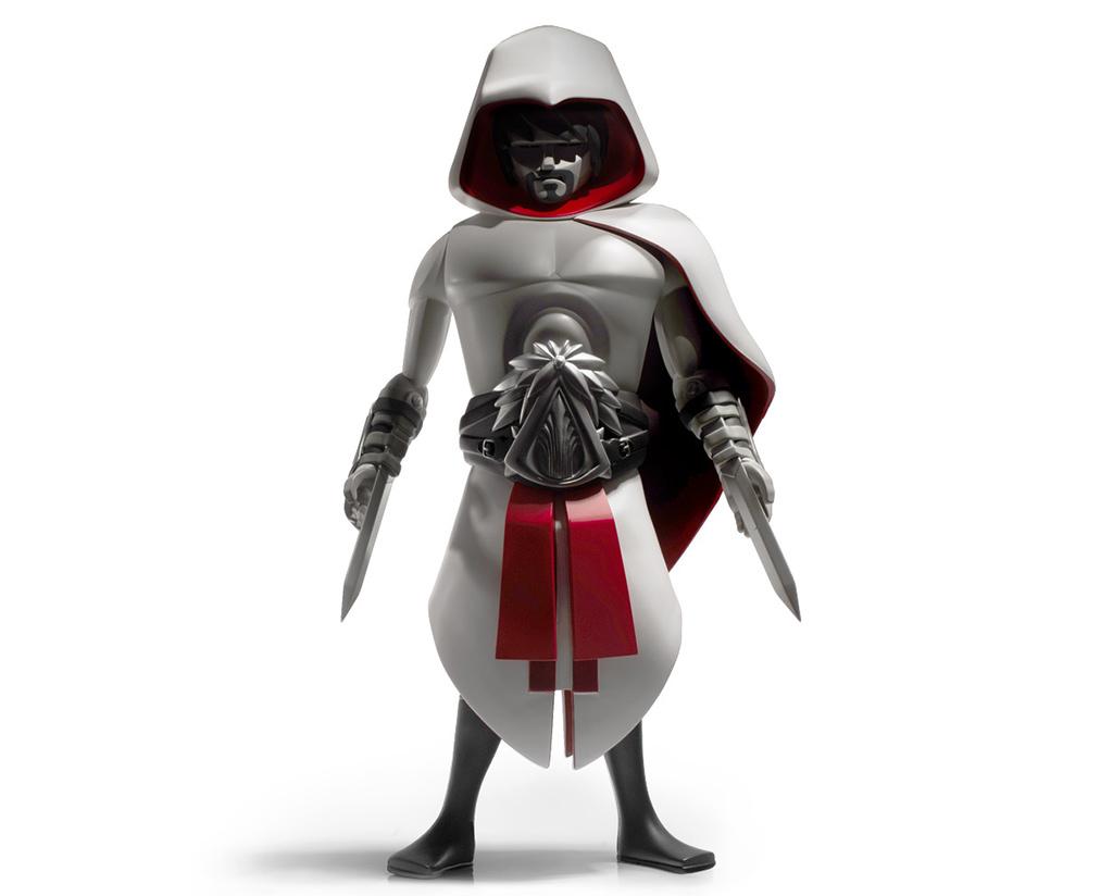 assassin s creed ezio auditore figurine by coarse ubi workshop