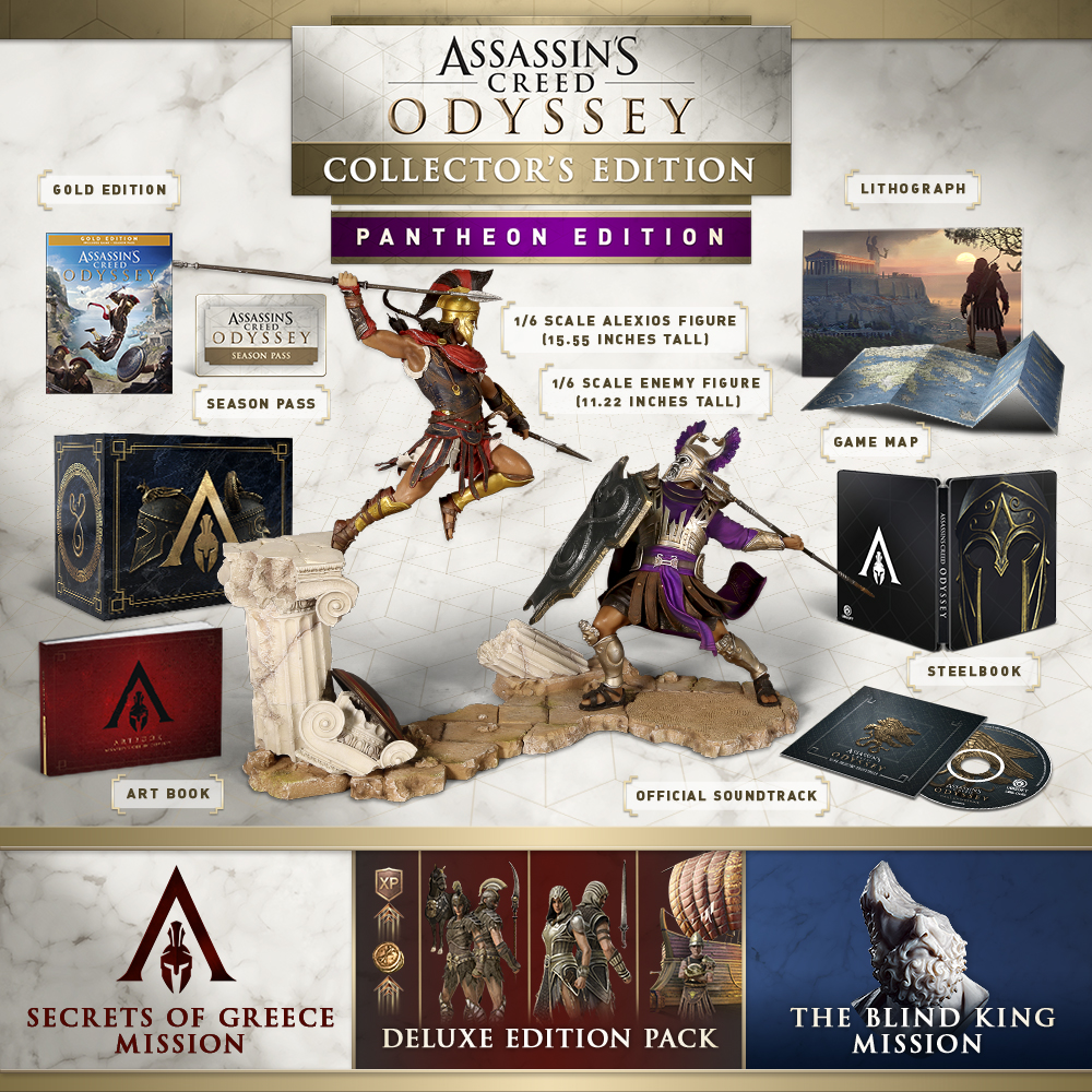 Buy Assassin S Creed 174 Odyssey Pantheon Collector S Edition