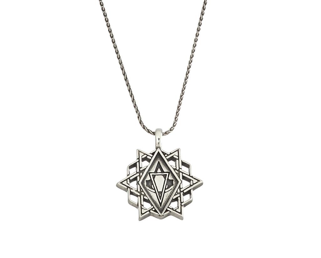 Assassin S Creed Movie Star Amulet Silver Necklace Ubi Workshop
