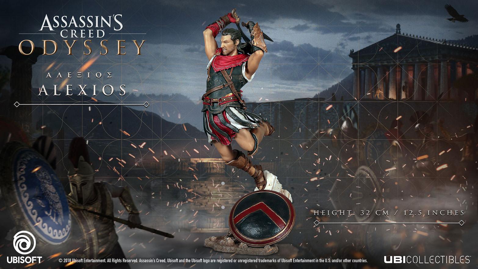 Assassin S Creed Odyssey Alexios Figurine Anz Ubisoft