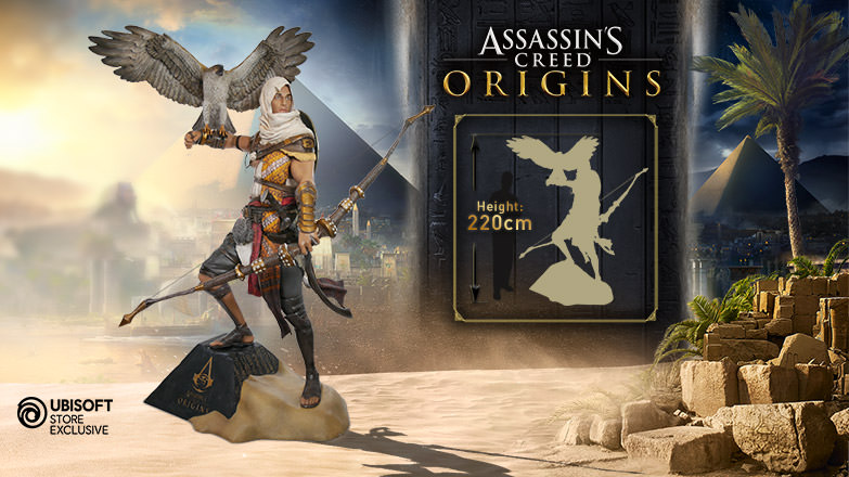 Assassin S Creed Origins Bayek Life Size Uk Ubisoft