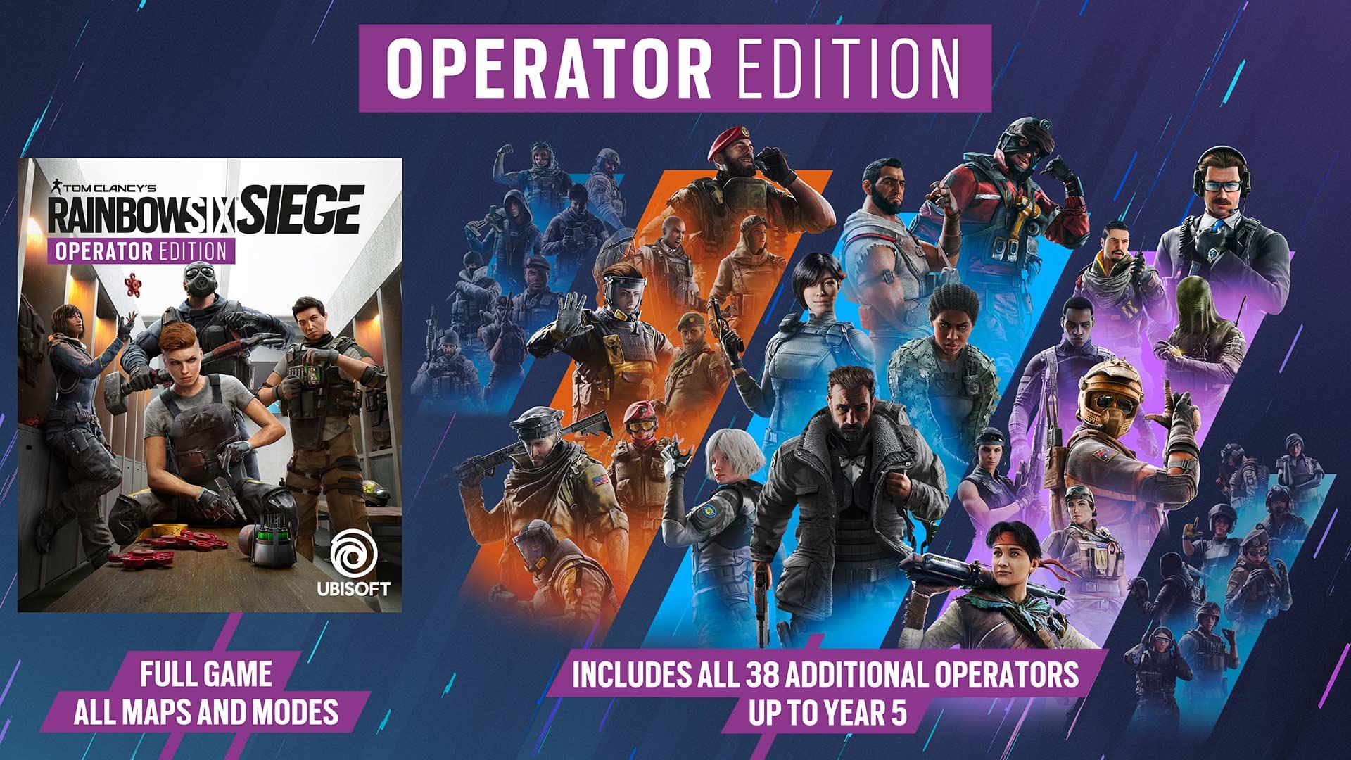 Rainbow Six Siege Operator Edition
