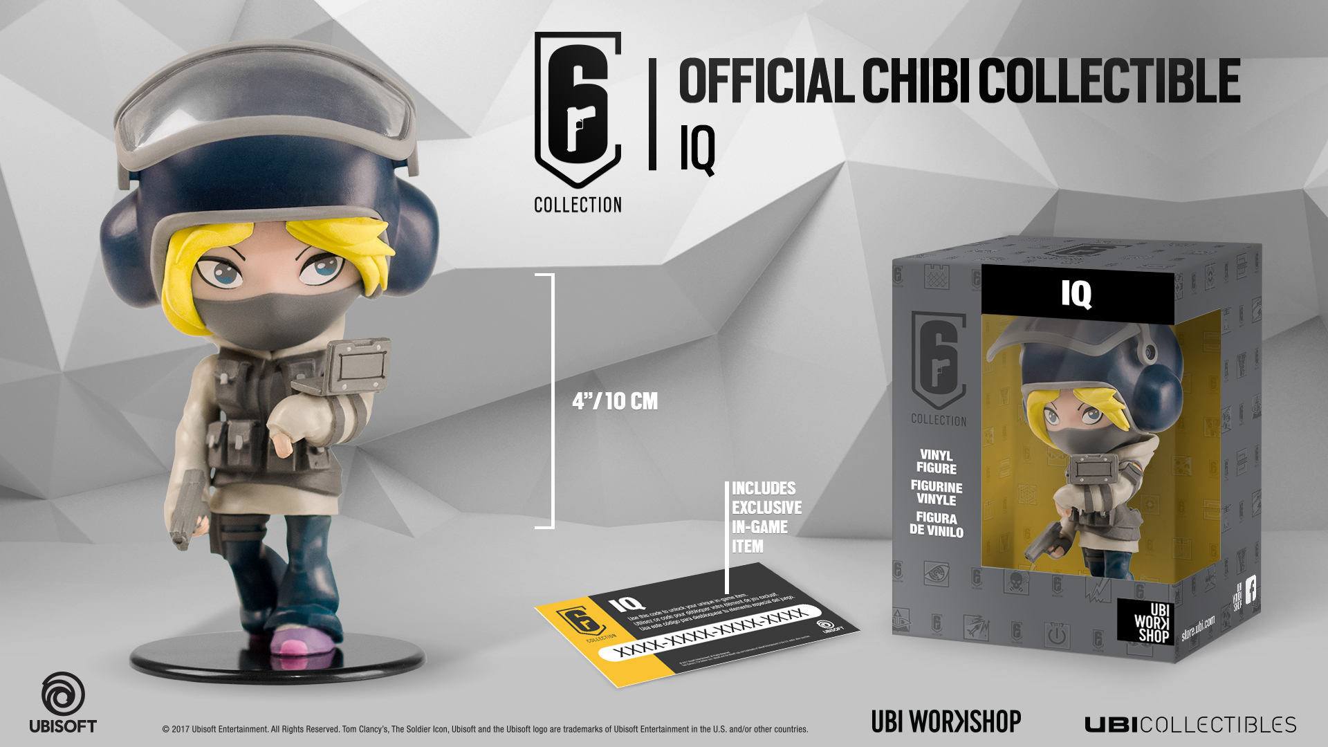 Six Collection - IQ Chibi Figurine