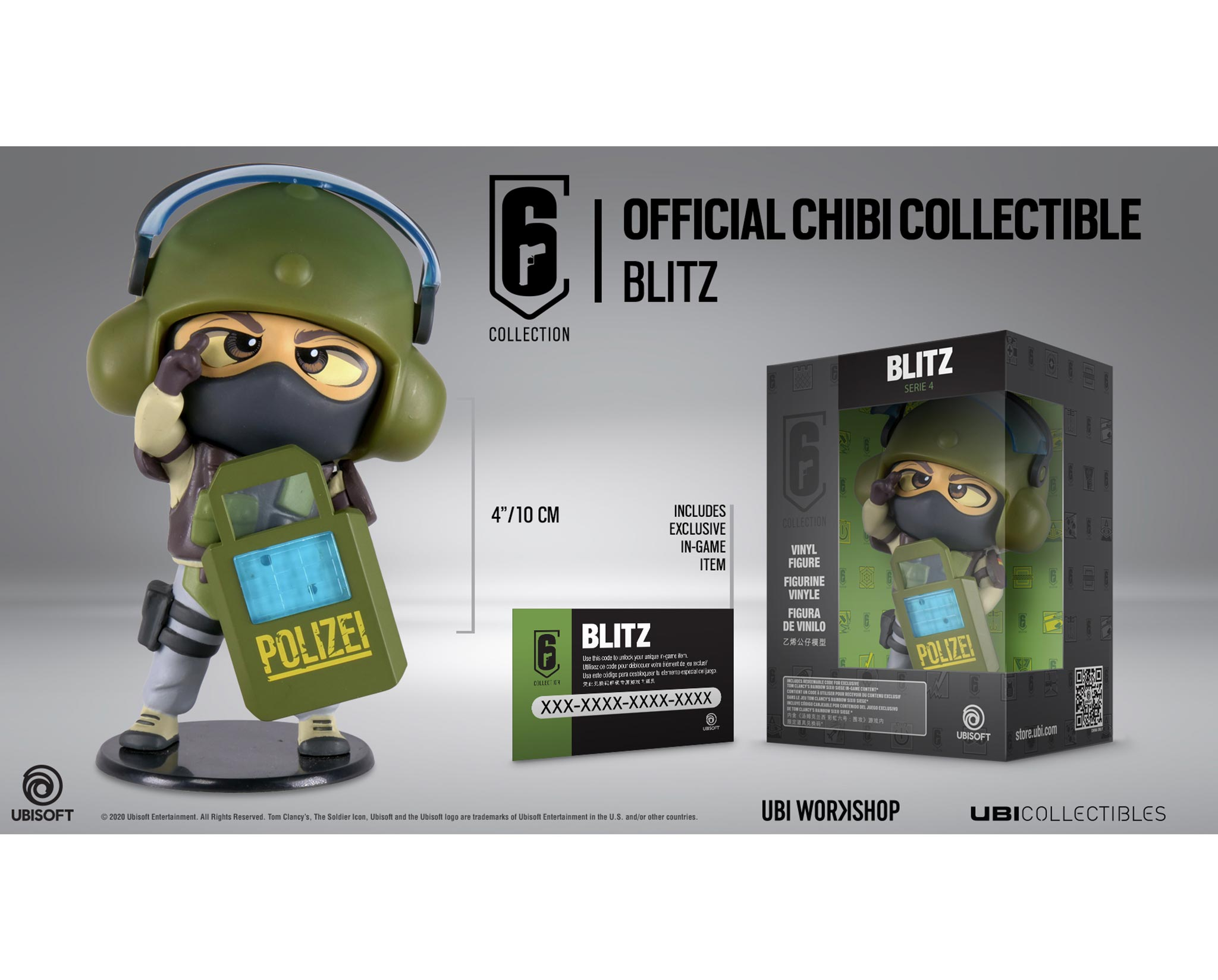 Chibi Figurine Six Collection Series 4 Blitz