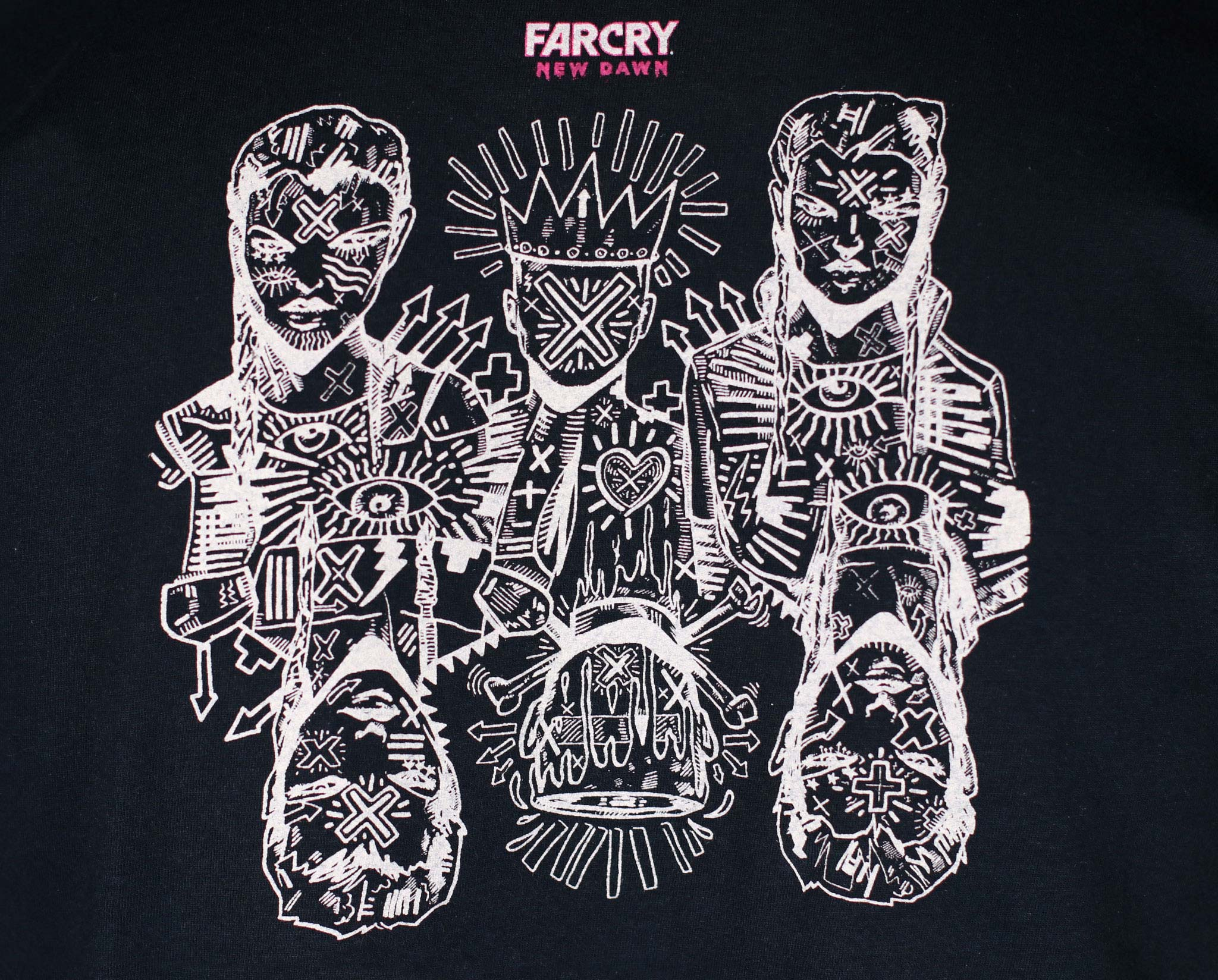 Far Cry New Dawn Official T Shirt Ubisoft Store