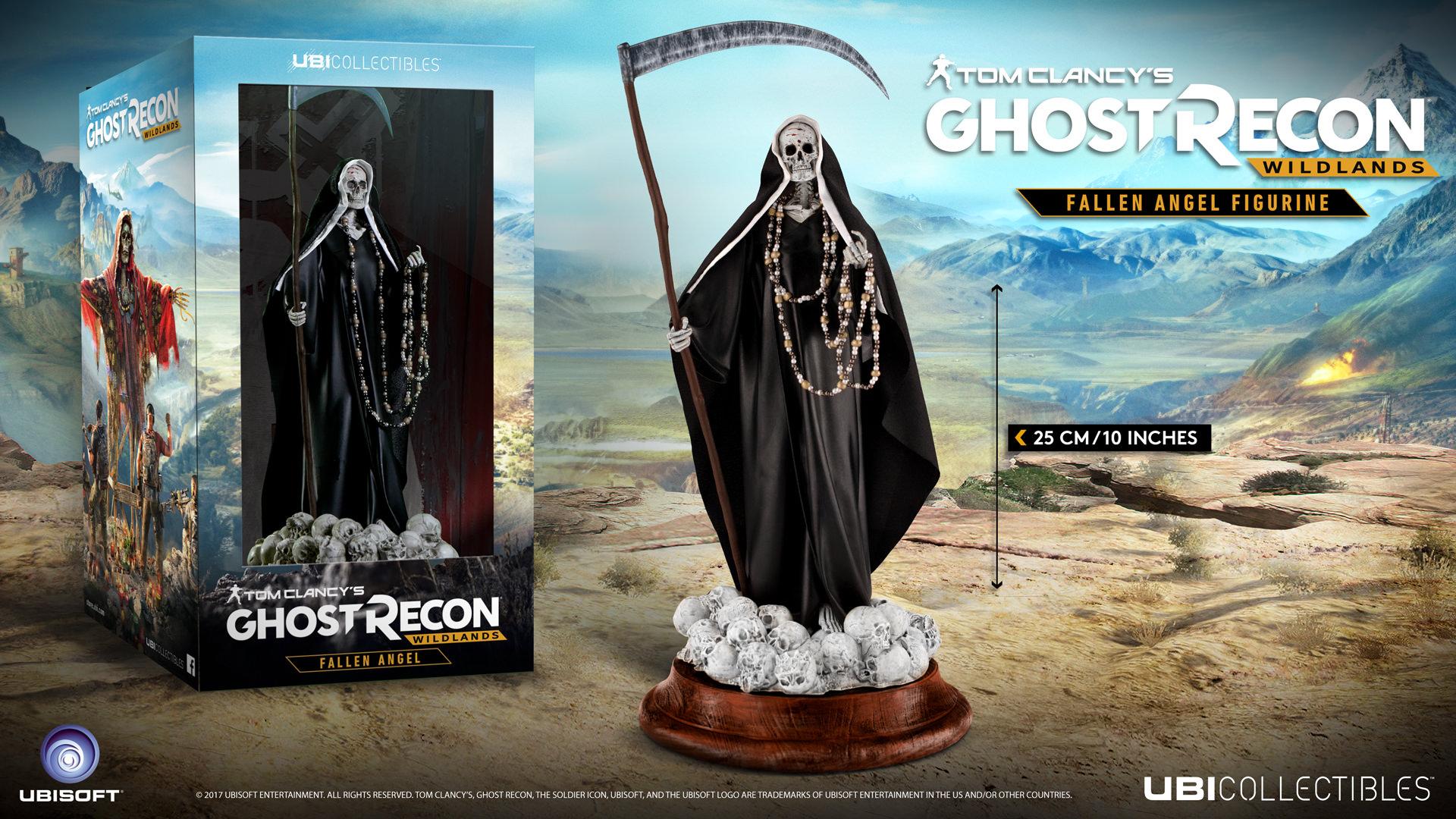 Tom Clancy/'s Ghost Recon Wildlands Santa Muerte Fallen Angel PVC Statue UBISOFT