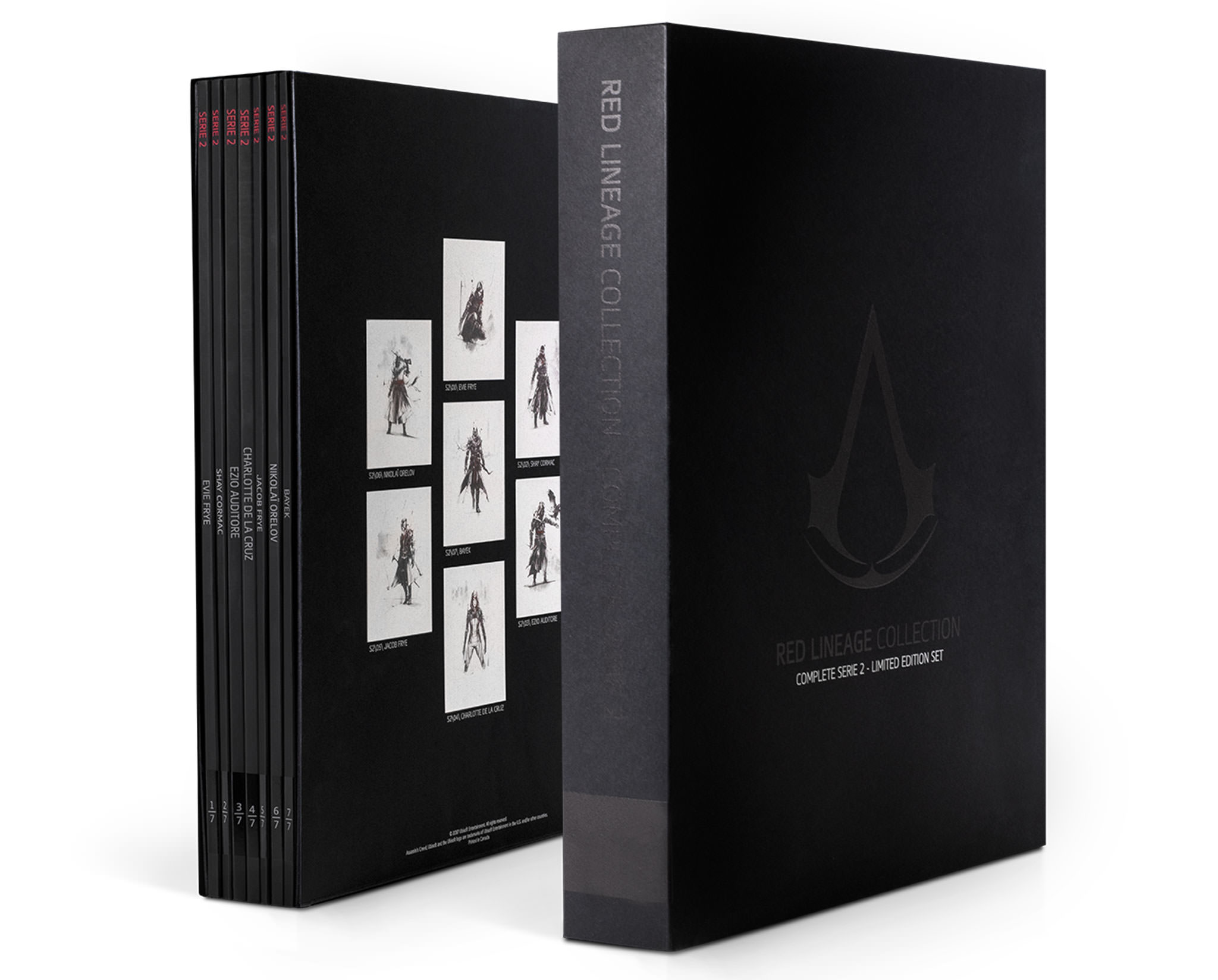 Assassin S Creed Red Lineage Complete Collection Series 2