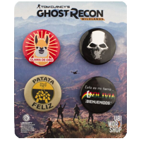 Ghost Recon Wildlands Pins