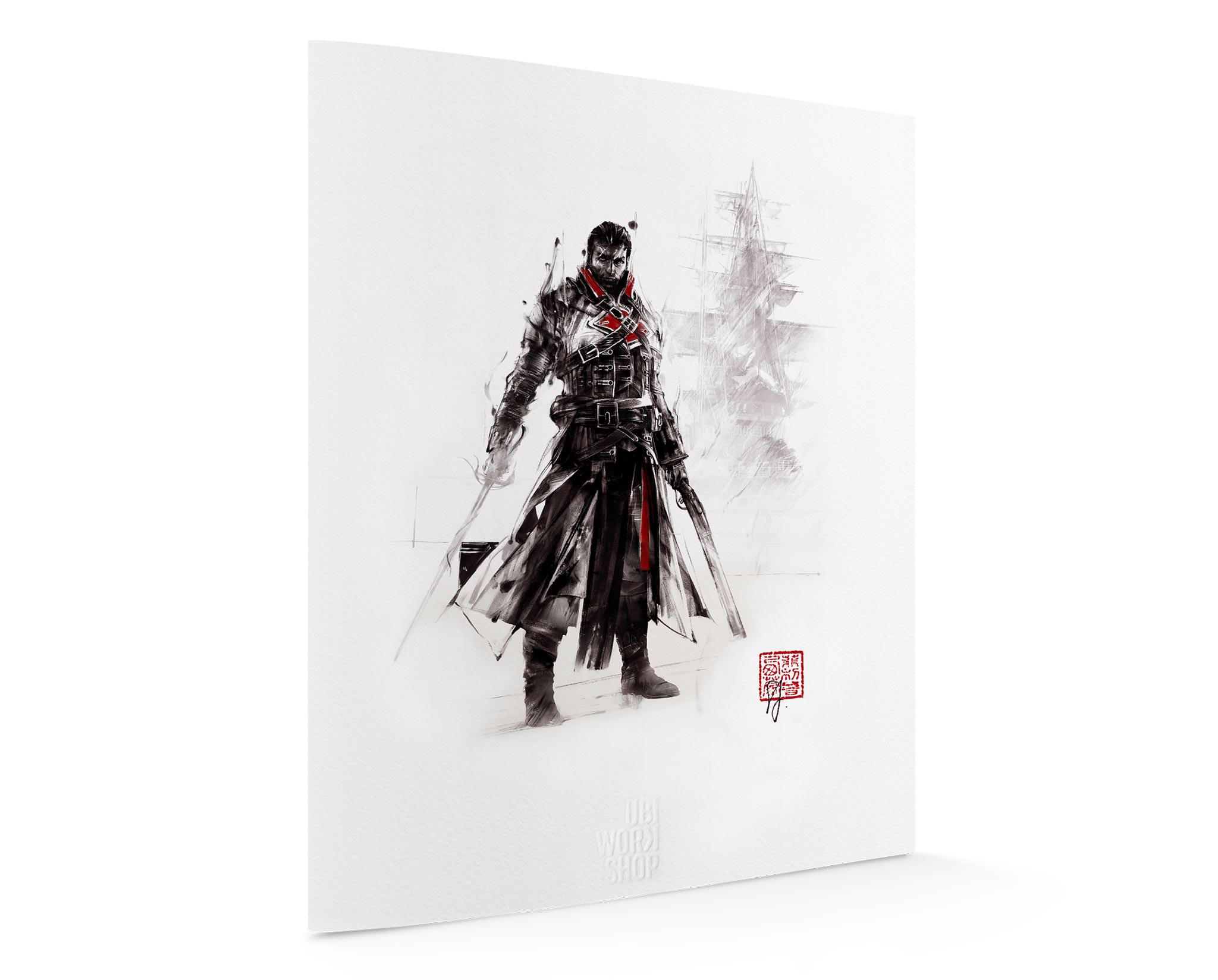 Assassin S Creed Red Lineage Collection Shay Cormac Ubi Workshop