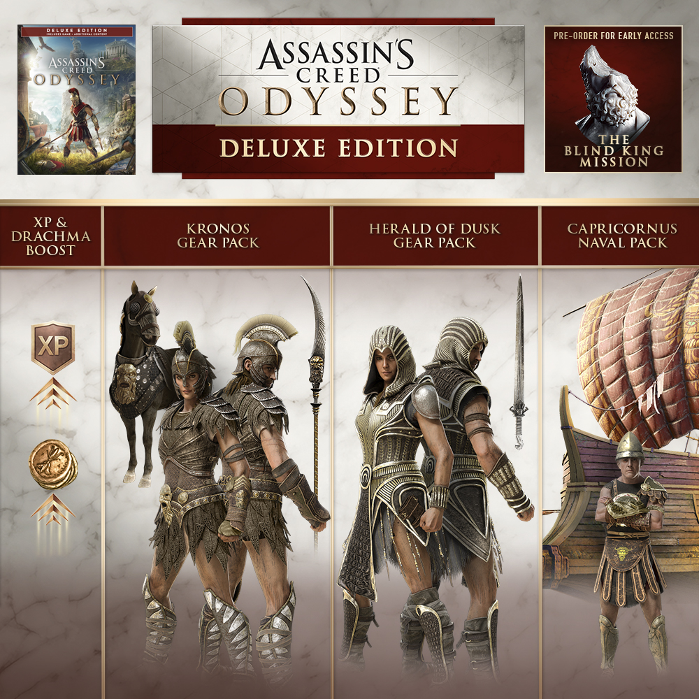 Buy Assassin's Creed® Odyssey Deluxe Edition for PS4 and ...