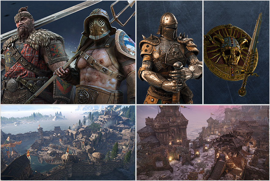 For honor 9 new territories to the world map gumiabroncs Gallery