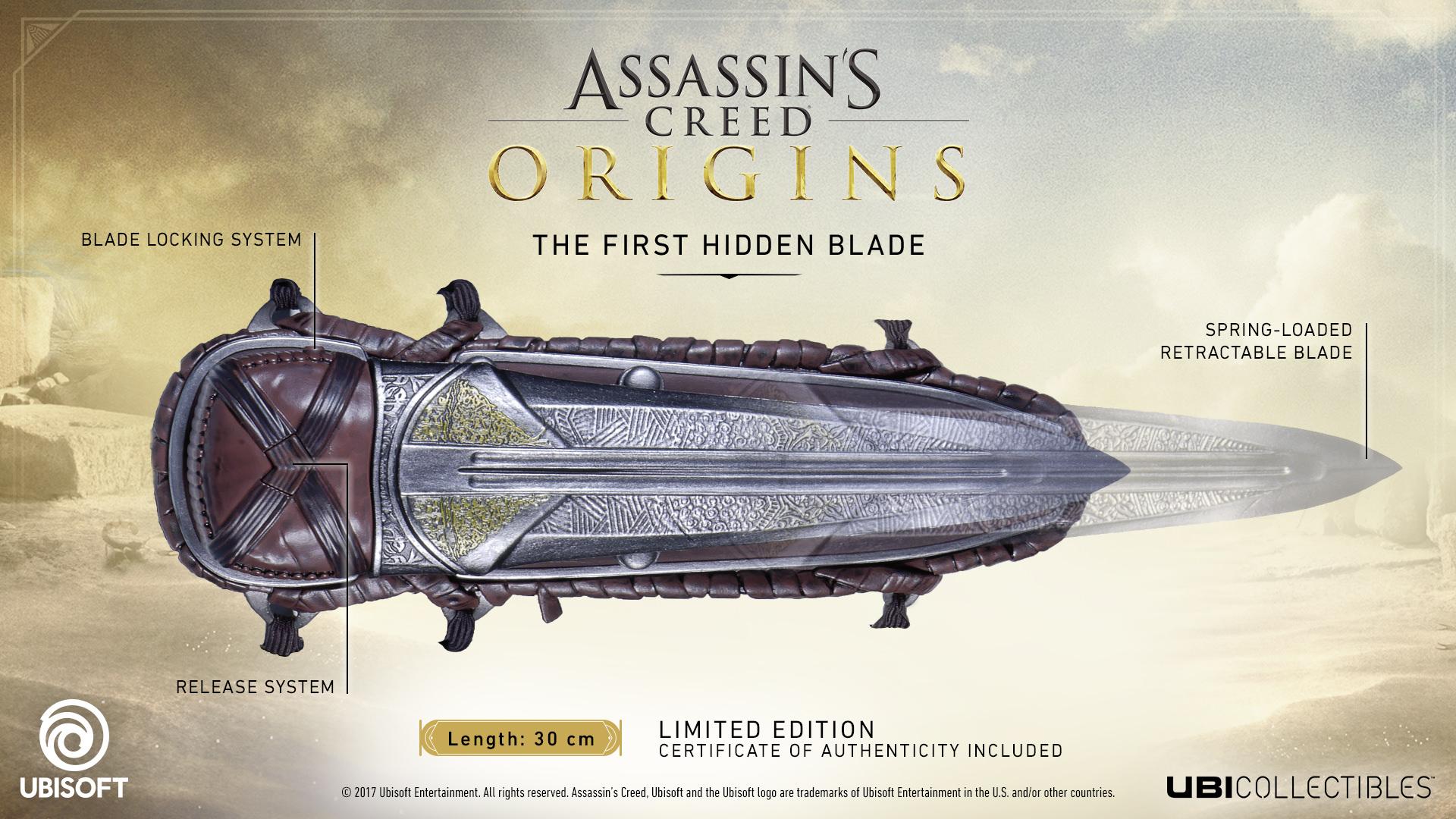 Assassin S Creed Origins The First Hidden Blade European Ubisoft