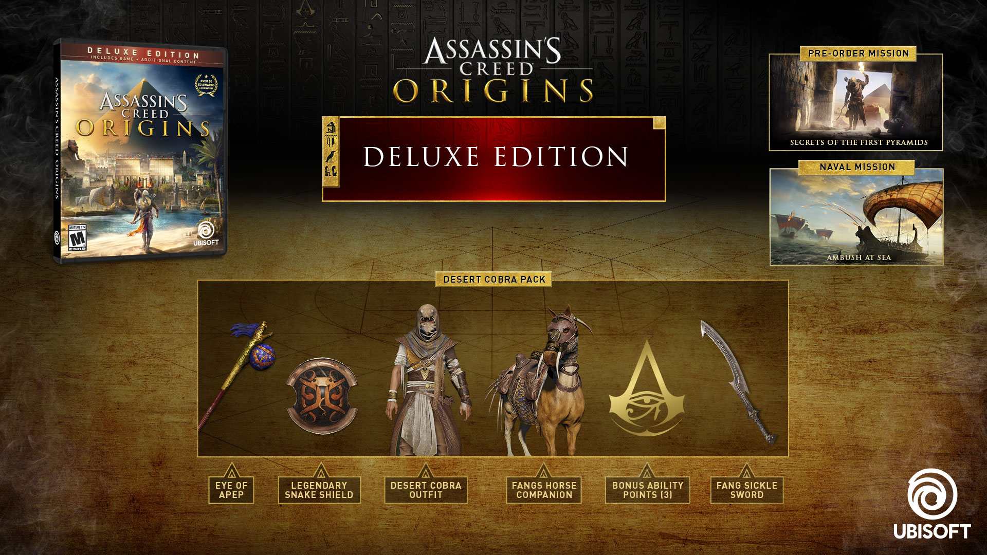 Buy Assassin s Creed® Origins Deluxe Edition for PS4 f47930d6fc9c