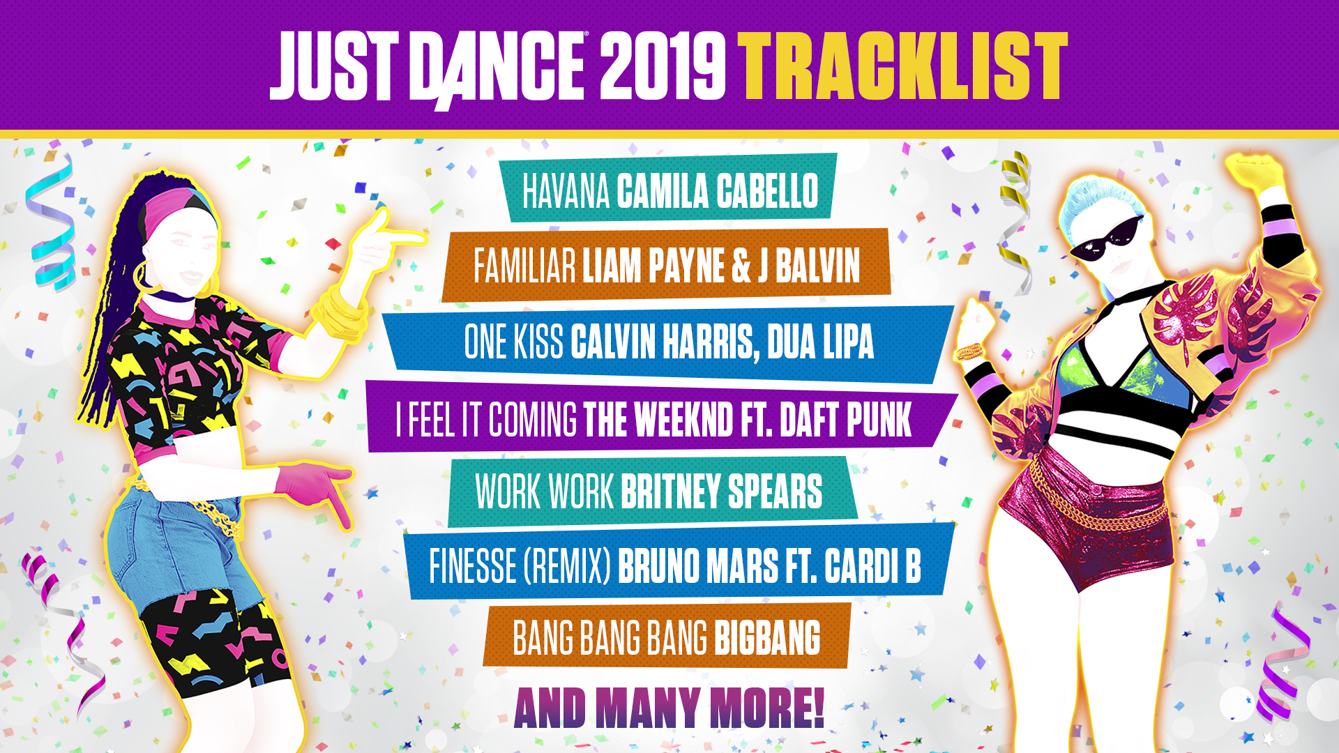 Buy Just Dance 2019 Standard Edition for PS4, Xbox One, Switch, Wii