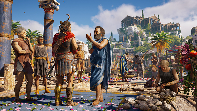 ÎÏÎ¿ÏέλεÏμα εικÏÎ½Î±Ï Î³Î¹Î± Assassin's Creed Odyssey parthenon