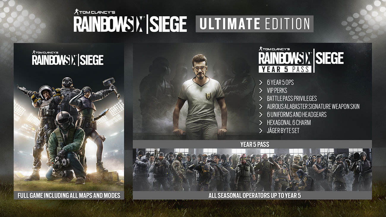 Rainbow Six Siege Ultimate Edition