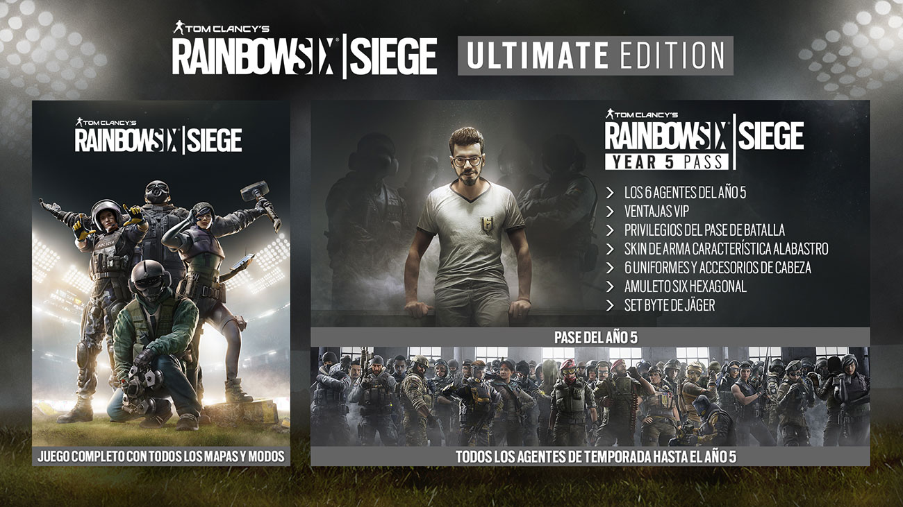 Rainbow Six Siege Ultimate Edition