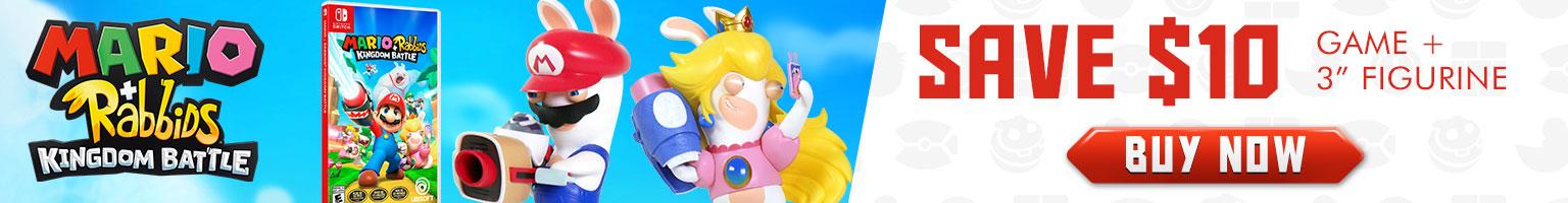 Mario Rabbids Launch